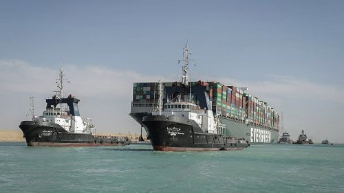Suez-Blockade: Frachteigentümer sollen sich an Kosten beteiligen