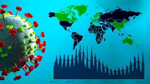 Aktuelle Zahlen zum Coronavirus: Grafiken, Karten, Tabellen