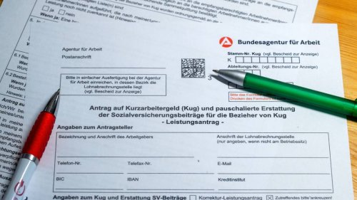 Betrug bei Kurzarbeit: Bundesagentur für Arbeit erhält 4250 Hinweise