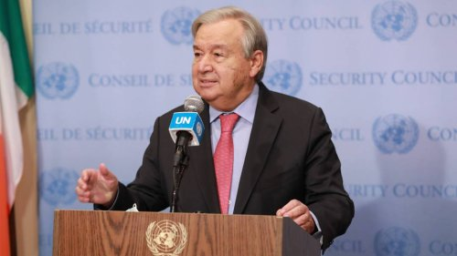 UN-Generalsekretär Guterres: Ungleiche Verteilung von Impfstoffen ist moralischer Skandal