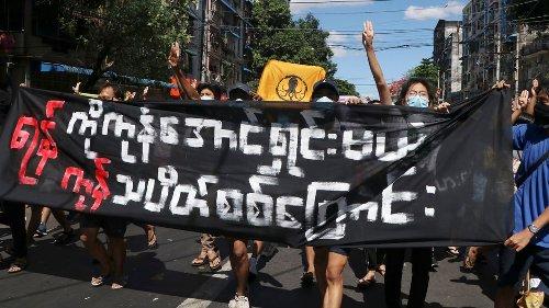 Myanmar: Erneut protestieren Tausende gegen Militärputsch