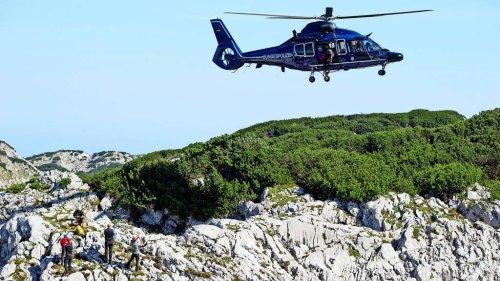 15 Meter in die Tiefe gestürzt: Bergsteiger stirbt in Berchtesgadener Alpen