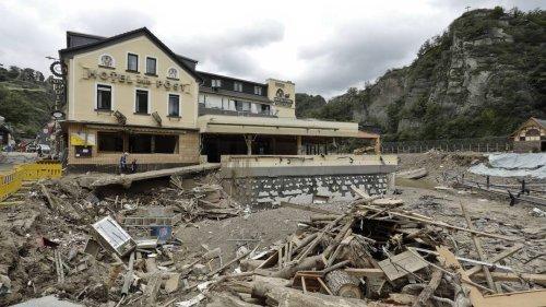 """Katastrophentief """"Bernd"""": Versicherung meldet Rekordschäden nach Unwetter"""