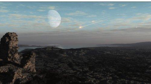 """Studie: Asteroiden-""""Bombardement"""" verhinderte Bildung von Sauerstoffatmosphäre"""