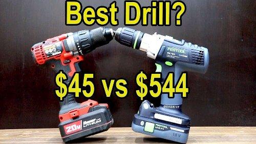 Which Drill Is Best? Milwaukee vs Dewalt, Makita, Bosch, Festool, Ryobi, Bauer, Ridgid