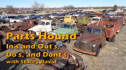 The In's, Out's, Do's, and Dont's of Being a Parts Hound with Stacey David
