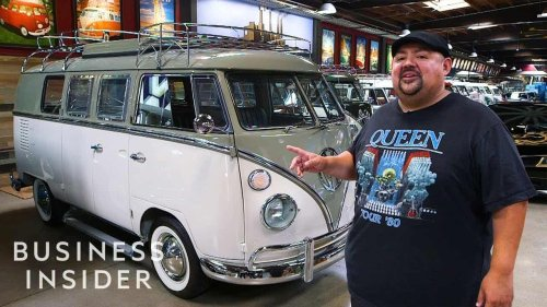 Inside Comedian Gabriel Iglesias' $3 Million Volkswagen Bus Collection