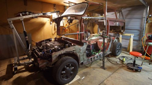 Frankenwagon ~ 1967 VW Type3 Gets Mazda MX-5 Miata 'Chassis' Swap