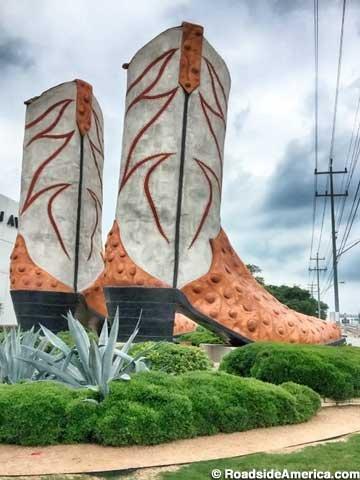 World's Largest Cowboy Boots, San Antonio, Texas