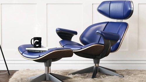 Car Design Legend Ian Callum Reimagines the Iconic Eames Lounge Chair