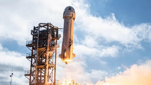 Jeff Bezos's Space Company To Auction Off a Ticket for Its First Passenger Flight