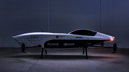 IWC and Airspeeder Join Forces to Launch a New Electric Flying Racecar Competition