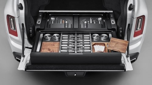 The Rolls-Royce Cullinan's New Storage Solution Will Create An Exact Fit For Your Minbreak Must-Haves