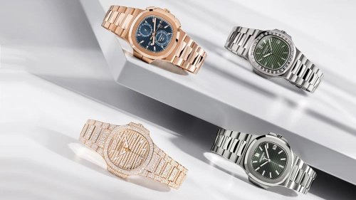 Patek Philippe Introduces Four New Nautilus References for 2021
