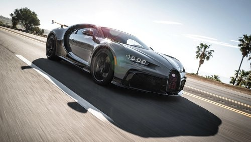 Test Drive: Bugatti's Chiron Pur Sport, A 1,500 HP Brute With the Agility of a Dancer