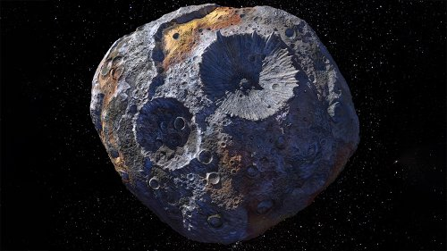 Rare Metal Asteroid Captured Worth 70,000 Times Global Economy