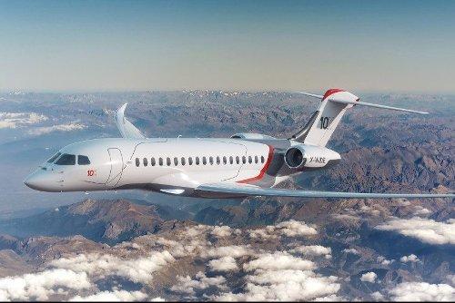 Dassault's New Ultra-Long-Range Flagship Jet