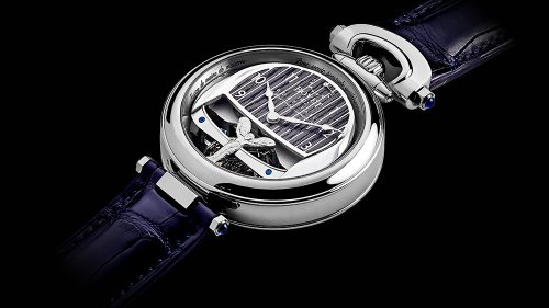 These Bovet Watches Transform Into Dashboard Clocks For The Rolls-Royce Boat Tail