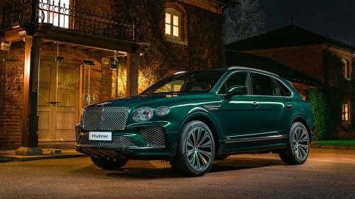Bentley's First All-Electric Vehicle Will Likely Be An SUV