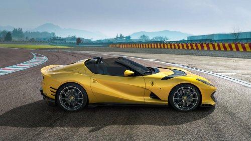 The New Ferrari 812 Superfast Competizione