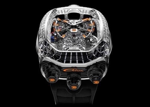 Jacob & Co.'s New Bugatti Chiron Watch