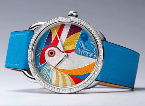 How Hermés Handcrafts It's Toucan Watch