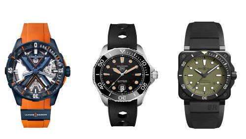 Seven Dive Watches To Take You From Beach To Boardroom