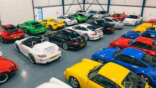 The Leonard Collection of Porsche 911s, Ferraris and Even a Tank Are Now at Auction
