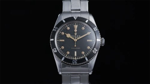 One of the Rarest, Early Rolex Submariners Is Heading to Auction This Weekend