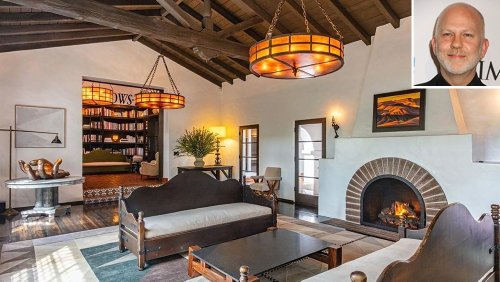 Ryan Murphy Just Sold His Spanish Colonial Revival-Style Home in Beverly Hills for $16.5 Million