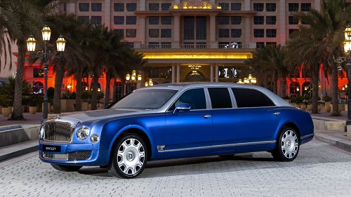 5 Ultra-Rare, Never-Driven Bentley Mulsanne Grand Limousines Just Went Up for Sale