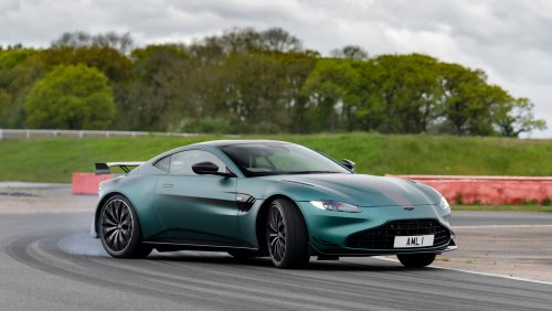 First Drive: Why Aston Martin's Vantage F1 Edition Should Take a Victory Lap