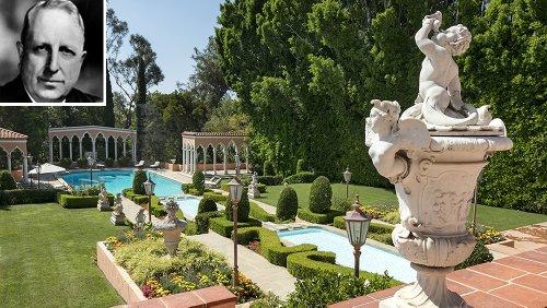 Inside William Randolph Hearst's Grand $90 Million Former Estate in Los Angeles