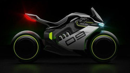 Segway (Yes, Segway) Is Making a Hybrid Motorcycle Worthy of All Your 'Tron' Fantasies