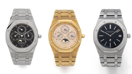 This Trio of Ultra Rare Royal Oak Watches Could Fetch Close to $600,000 at Auction