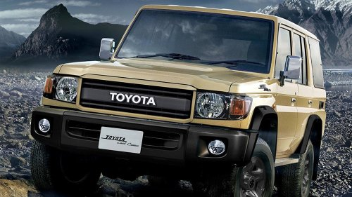 Toyota Unveils a Gloriously Boxy, Retro Land Cruiser, but You Can Only Get it Down Under