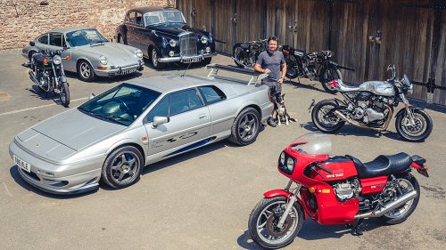 'Top Gear' Host Richard Hammond Is Selling Rare Cars and Bikes From His Private Collection