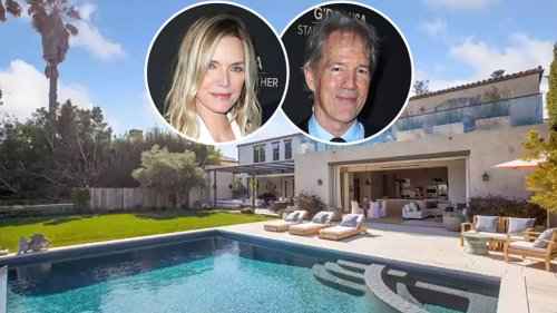 Michelle Pfeiffer and David E. Kelley's Pacific Palisades Mansion Could Be Yours for $25 Million