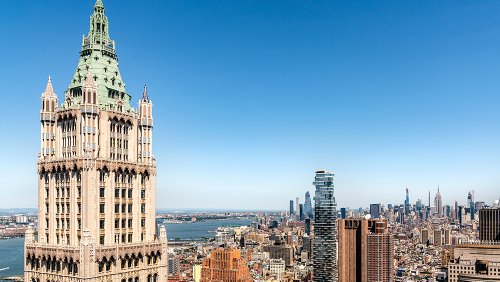 First Look: Inside the $79 Million, 5-Level Penthouse of NYC's Storied Woolworth Building