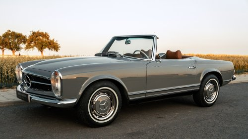 Car of the Week: Own a Concours-Quality Mercedes-Benz 280 SL Restored by Bechtel