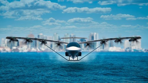 This New All-Electric Seaplane Glides Above the Water's Surface Like a Hovercraft