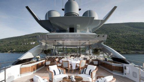 First Look at Superyacht Galactica Super Nova's Sumptuous Interior