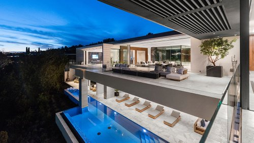 This Ultra-Modern Beverly Hills Mansion Can Be Yours for 1,000 Bitcoins—or $65 Million