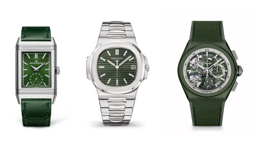 Green Dials Are Taking Over the Watch World. Here Are 10 Luxe Timepieces That Show Why.