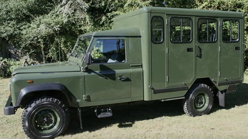 Prince Phillip's Casket Will Ride to His Funeral in a Custom Land Rover He Helped Design