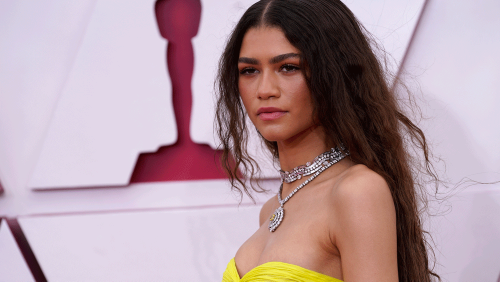 Zendaya Wore Two Insane Bulgari Necklaces—and 231.78-Carats in Diamonds—to the Oscars