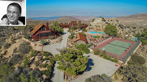 Frank Sinatra's Secluded Palm Desert Compound Could Be Yours for $4.25 Million
