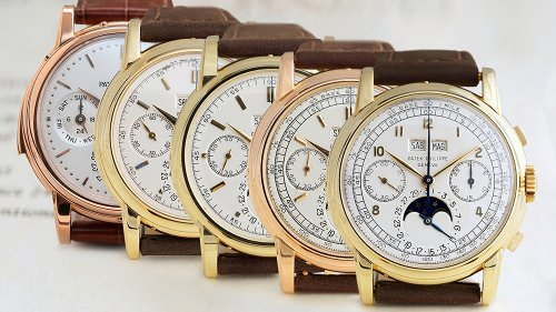 5 Ultra-Rare Patek Philippe Wristwatches Are Heading to Auction This Spring