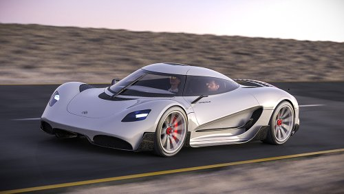 Forget Batteries, This New Lightweight Hypercar Will Be Powered Entirely by Hydrogen