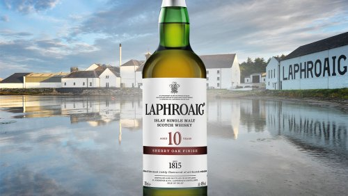 Taste-Test: Laphroaig's New Sherry Cask-Finished Single Malt Is a Must-Buy for Peated Scotch Fans